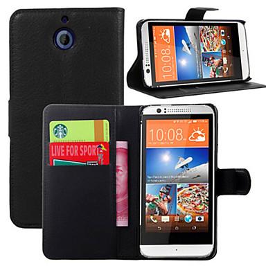 o suporte de luva protetora cartão gravado virou-se para o HTC Desire 510 telefone móvel