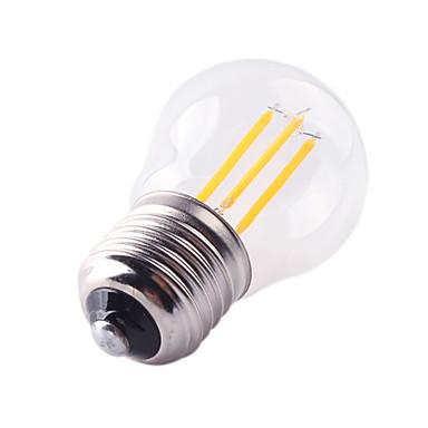 1шт 4W 360lm E26 / E27 LED лампы накаливания G45 4 Светодиодные бусины COB Декоративная Тёплый белый Холодный белый 220-240V