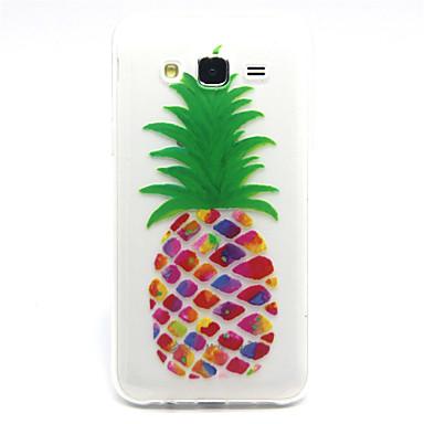Para Samsung Galaxy Capinhas Estampada Capinha Capa Traseira Capinha Fruta TPU Samsung J5