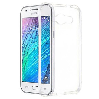 tok Για Samsung Galaxy Samsung Galaxy Θήκη Διαφανής Πίσω Κάλυμμα Συμπαγές Χρώμα TPU για J1