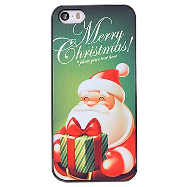 Voor iPhone 5 hoesje Patroon hoesje Achterkantje hoesje Kerstmis Hard PC iPhone SE/5s/5