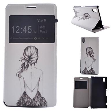 geschilderde pu telefoon geval voor Sony Xperia m4