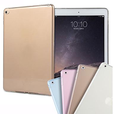 Capinha Para iPad Air 2 Transparente Capa traseira Côr Sólida TPU para iPad Air 2