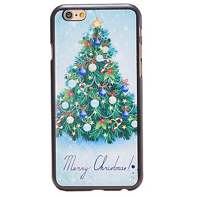 kerst stijl mooie kerstboom patroon pc harde rugdekking voor iPhone 6 plus