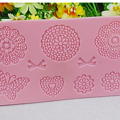 1pc diy flower cake 8 patronen schimmel keukenbakvorm