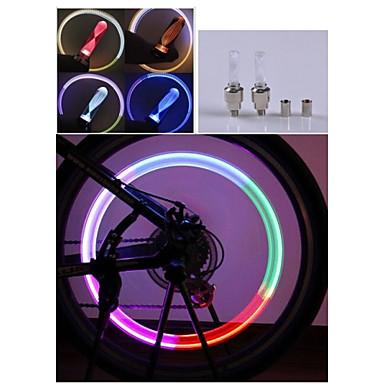 Φώτα Ποδηλάτου LED - Ποδηλασία Αλλάζει Χρώμα ΟΕ10 90 Lumens Μπαταρία Ποδηλασία Φώτα Οχημάτων μοτοσικλέτα
