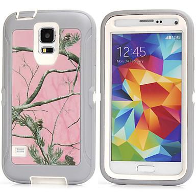 Para Samsung Galaxy Capinhas Antichoque Capinha Capa Traseira Capinha Armadura PC Samsung S6 / S5 / S4 / S3