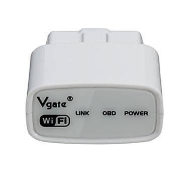 Оригинальный Vgate icar1 WiFi ELM327 OBDII код читателя автомобиля диагностический инструмент для андроид и IOS