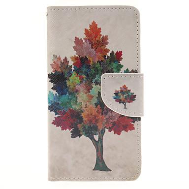 tok Για Samsung Galaxy Samsung Galaxy Θήκη Θήκη καρτών με βάση στήριξης Ανοιγόμενη Μαγνητική Με σχέδια Πλήρης Θήκη Δέντρο PU δέρμα για A3