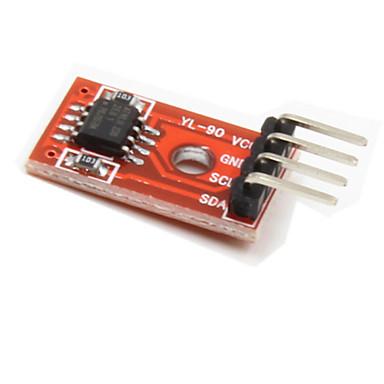 módulo de armazenamento EEPROM i2c at24c256 para o carro inteligente - vermelho + preto
