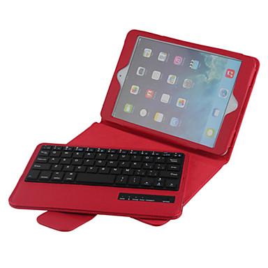 alta qualidade tampa de couro dobrável teclado Bluetooth caso para iPad mini 4 7.9 polegadas (cores sortidas)