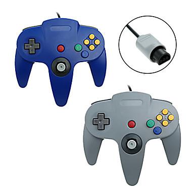 N64 Ενσύρματη Ελεγκτές παιχνιδιών Για Wii ,  Χειριστήριου Παιχνιδιού Ελεγκτές παιχνιδιών ABS 1 pcs μονάδα