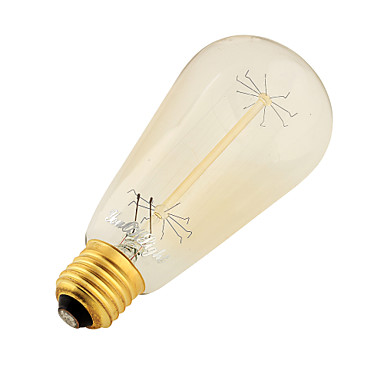 YouOKLight 400 lm E26/E27 LED-bollampen B 9 Tungsten Filament leds SMD Decoratief Warm wit AC 220-240V