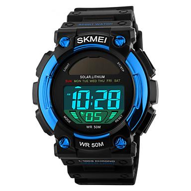 SKMEI Pánské Sportovní hodinky Náramkové hodinky Digitální Z umělé kůže  Černá 50 m Voděodolné Alarm Kalendář 79cfb0ccaa