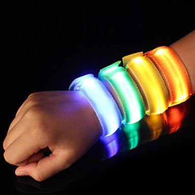 Περιβραχιόνιο LED για τρέξιμο Αντανακλαστική ταινία Ασφάλεια Υψηλή ορατότητα Νάιλον για Κατασκήνωση/Πεζοπορία/Εξερεύνηση Σπηλαίων