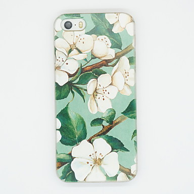 hoesje Voor Apple iPhone X iPhone 8 Plus iPhone 5 hoesje Patroon Achterkant Bloem Zacht TPU voor iPhone X iPhone 8 Plus iPhone 8 iPhone 7