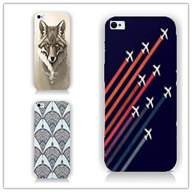 ufo patroon pc telefoon geval achteromslag case voor iphone5c iphone hoesjes