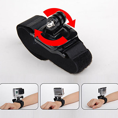 Straps / Wrist Strap Waterproof For Action Camera Gopro 6 / All Gopro / Gopro 5 Diving / Surfing / Ski / Snowboard Plastic / Carbon Fibre