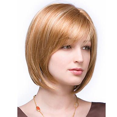 Συνθετικά μαλλιά Περούκες Ίσια Κοντό Ουράνιο Τόξο
