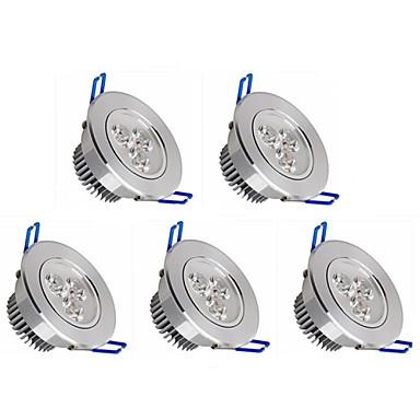 billige LED & Belysning-5pcs Downlights 350 lm 3 LED Perler Højeffekts-LED Dæmpbar Varm hvid Kold hvid / 5 stk. / RoHs