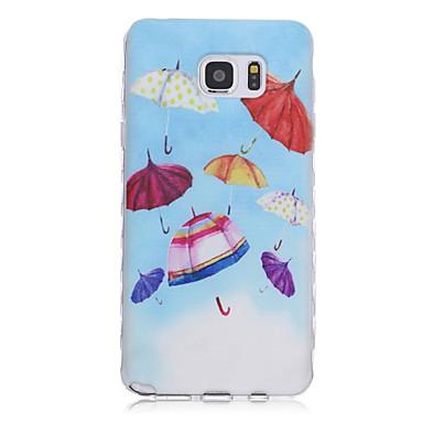 Para Samsung Galaxy Note Estampada Capinha Capa Traseira Capinha Desenho TPU Samsung Note 5 / Note 4 / Note 3