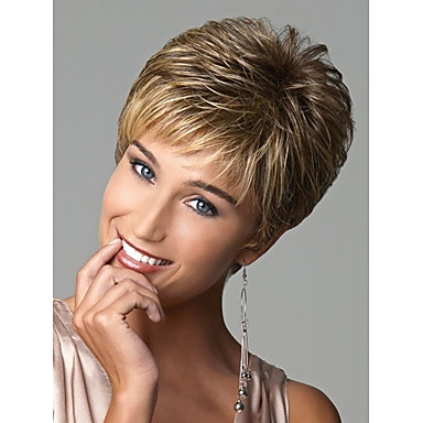 european lady women short syntheic wave wigs extensions beautiful wig