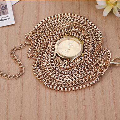 Mulheres Relógio de Moda Bracele Relógio Quartzo Aço Inoxidável Banda Preta Prata Dourada
