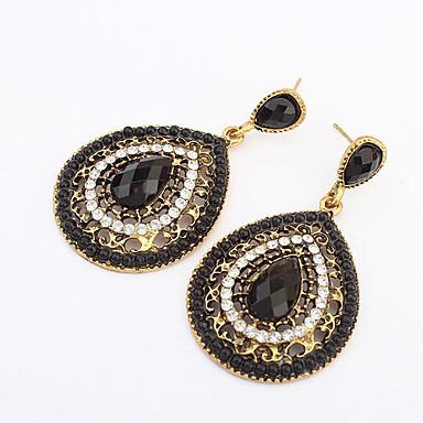 Γυναικεία Κρεμαστά Σκουλαρίκια Μοντέρνα Ευρωπαϊκό Ρητίνη Κράμα Κρεμαστό Κοσμήματα Μπεζ Καφέ Πράσινο Μπλε Ουράνιο Τόξο Κοστούμια Κοσμήματα