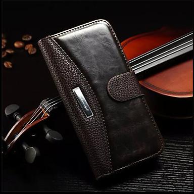 iphone 7 mais genuína caixa de couro carteira de luxo com os titulares de cartão para o iphone 6s 6 mais