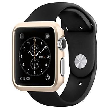 para 42 milímetros relógio maçã caso ultrafino cobertura plástica de proteção shell frente difícil para caixa de relógio de 42 milímetros