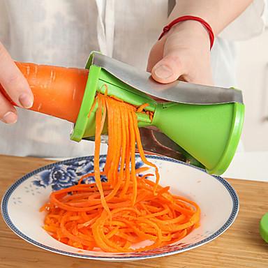 Plástico Gadget de Cozinha Criativa Vegetais Peeler & Grater