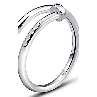 povoljno Prstenje-Žene Band Ring zamotajte prsten prsten za palac Plastika dame Modno prstenje Jewelry Pink / Zlatan Za Party Dnevno Kauzalni Prilagodljive
