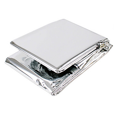 Emergency Blanket Kamperen Geschikt ander / textiel zilver