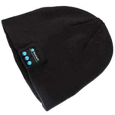 warme muts muts draadloze bluetooth slimme cap hoofdtelefoon speaker microfoon voor iPhone Sumsung mobiele telefoon
