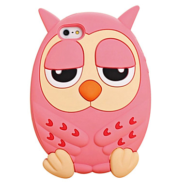 Para Capinha iPhone 6 Plus Antichoque Capinha Capa Traseira Capinha Desenho 3D Macia Silicone iPhone 6s Plus/6 Plus / iPhone 6s/6