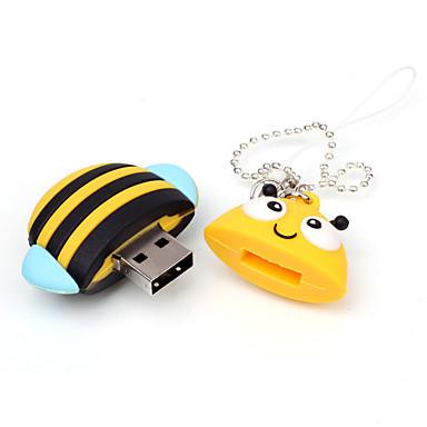 16GB USB flash sürücü usb diski USB 2.0 Karikatür Kompakt Boyut