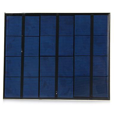 3.5W 6V USB-uitgang monokristallijn silicium zonnepaneel voor diy