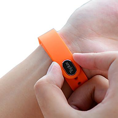 Toplux® E02 Activiteitentracker Slim horloge Slimme armbandWaterbestendig Verbrande calorieën Stappentellers Spraakbesturing Wekker