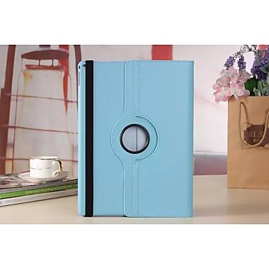 hoesje Voor met standaard 360° rotatie Volledig hoesje Effen Kleur PU-nahka voor iPad Pro 12.9''