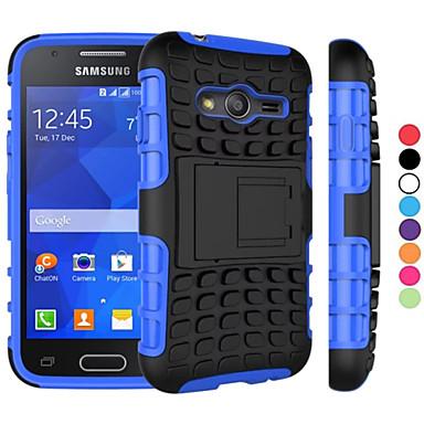 케이스 제품 Samsung Galaxy 삼성 갤럭시 케이스 충격방지 / 스탠드 뒷면 커버 갑옷 PC 용 Young 2 / Grand Prime / Core Prime
