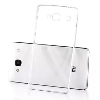 Para Capinha Mi Transparente Capinha Capa Traseira Capinha Cor Única Macia TPU Xiaomi
