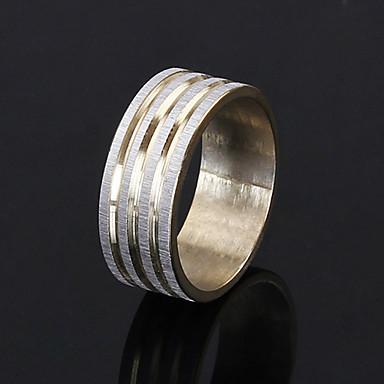 Anéis Grossos Chapeado Dourado imitação de diamante Moda Dourado Jóias Festa Diário Casual 1peça