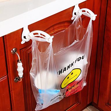 1 Cozinha Plástico Sacos de Lixo e Latas