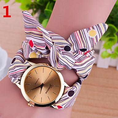 Mulheres Relógio de Moda Quartzo Relógio Casual Couro Banda Cores Múltiplas # 1 # 2 # 3