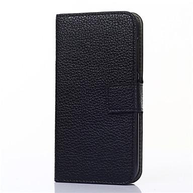 Para Samsung Galaxy Capinhas Carteira / Porta-Cartão / Com Suporte / Flip Capinha Corpo Inteiro Capinha Cor Única Couro PU SamsungOn 7 /