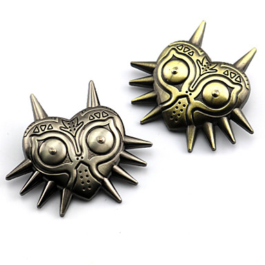 Sieraden geinspireerd door The Legend of Zelda Cosplay Anime/ Videogames Cosplayaccessoires Insigne Broche Legering Heren