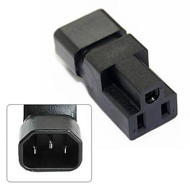 cy® IEC 320 mannelijke C14 naar vrouw 5-15R macht uitbreiding adapter