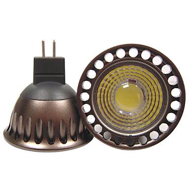 YouOKLight 400 lm GU5.3(MR16) Lâmpadas de Foco de LED R63 1 leds COB Decorativa Branco Quente Branco Frio AC 110-130V AC 12V DC 12V