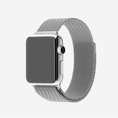 시계 밴드 용 Apple Watch Series 3 / 2 / 1 Apple 밀라노 루프 스테인레스 스틸 손목 스트랩