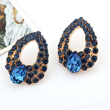 Dames Kubieke Zirkonia Gesimuleerde diamant Druppel oorbellen - Luxe Drop Voor
